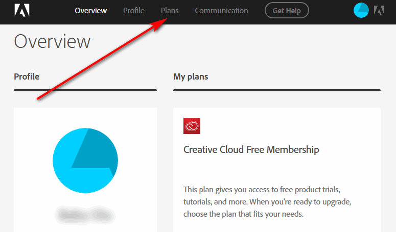 Creative Cloud Account