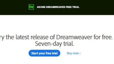 Download Dreamweaver free trial