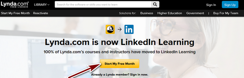 Lynda Free Trial Review - How the subscription plan works