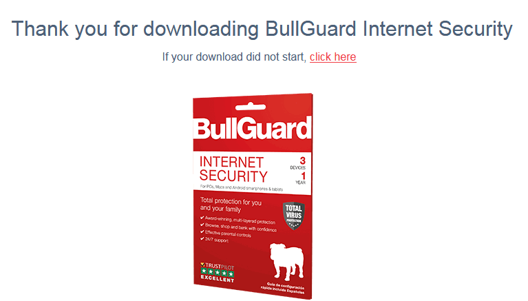 BullGuard free trial version