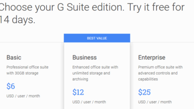 G Suite free trial