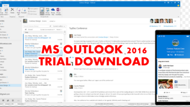 Outlook 2016 free trial