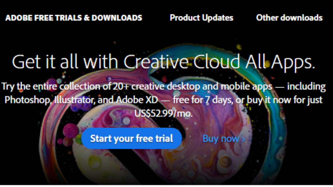 Adobe Creative Cloud Free Trial Download » Trial Software