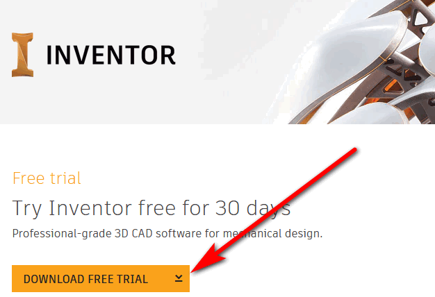 Autodesk Inventor free trial