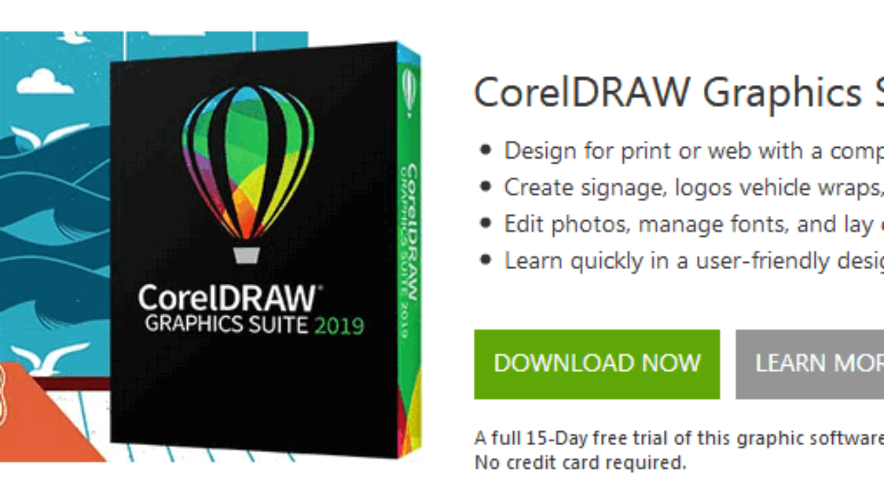 corel draw trial version free download