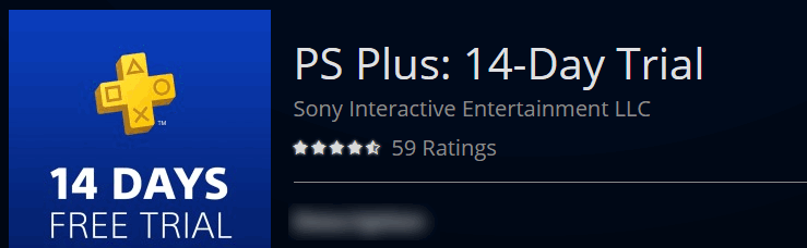 playstation plus free trial