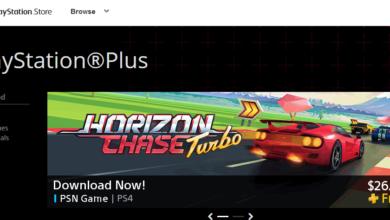 PlayStation Plus website