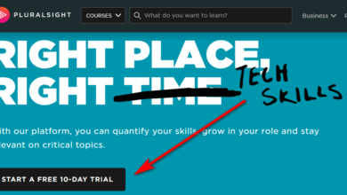 pluralsight free trial