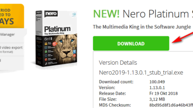 Download Nero free trial