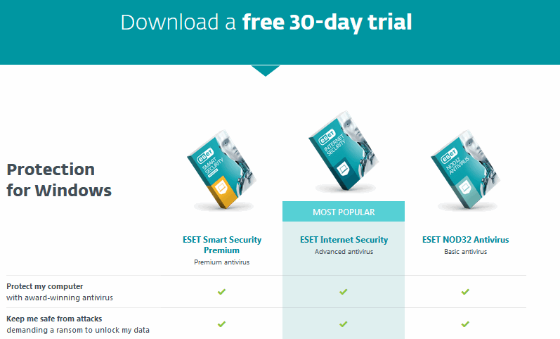 eset smart security 30 days free trial