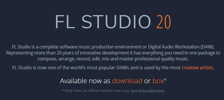 FL Studio free trial