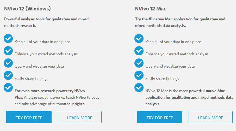 Nvivo free trial features