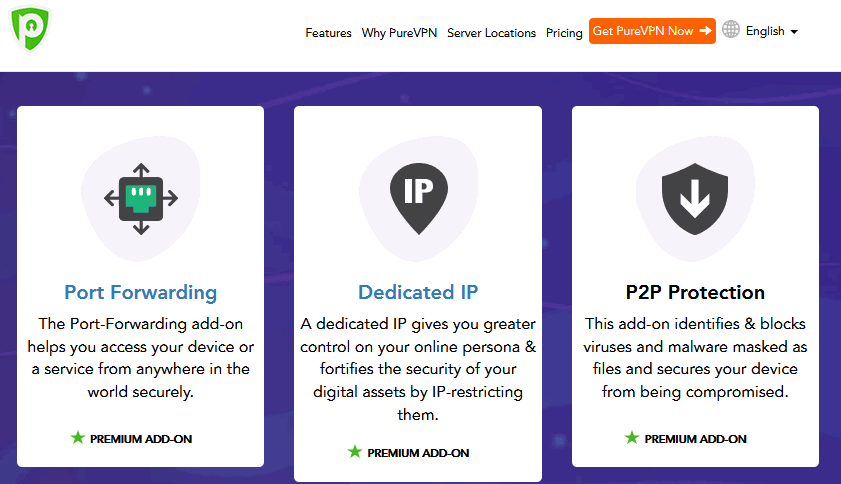 PureVPN free trial benefits