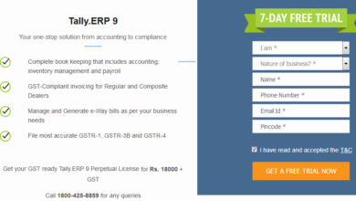 Tally.ERP free trial