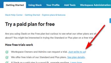 Slack free trial