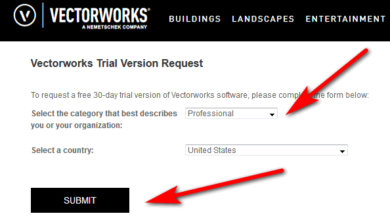 Vectorworks free trial request form