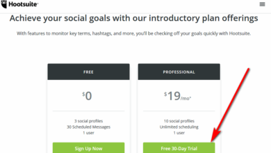 Hootsuite free trial
