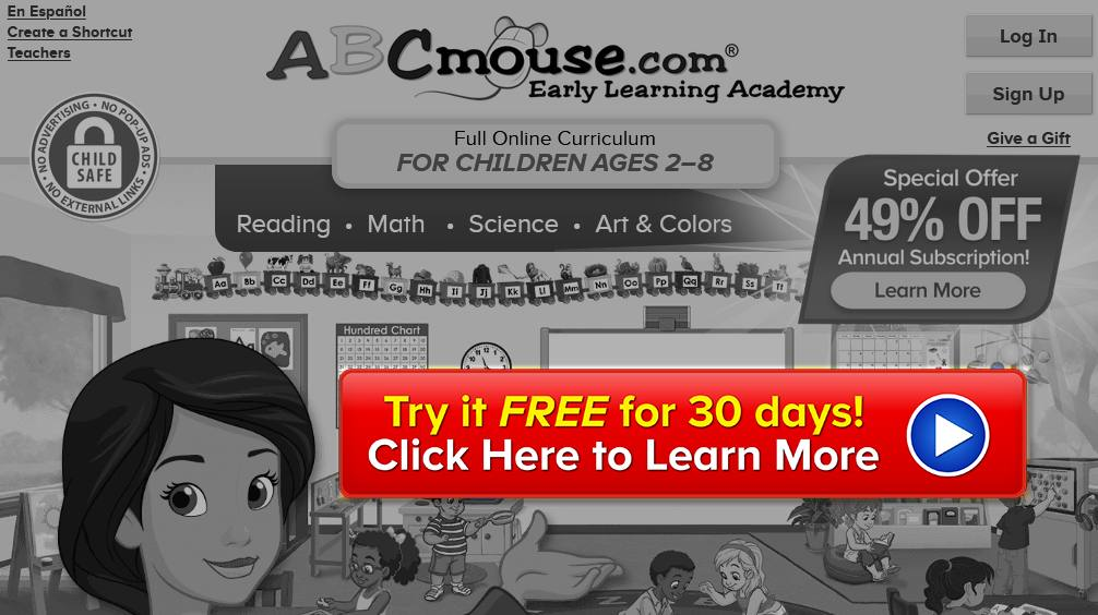 ABCmouse free trial