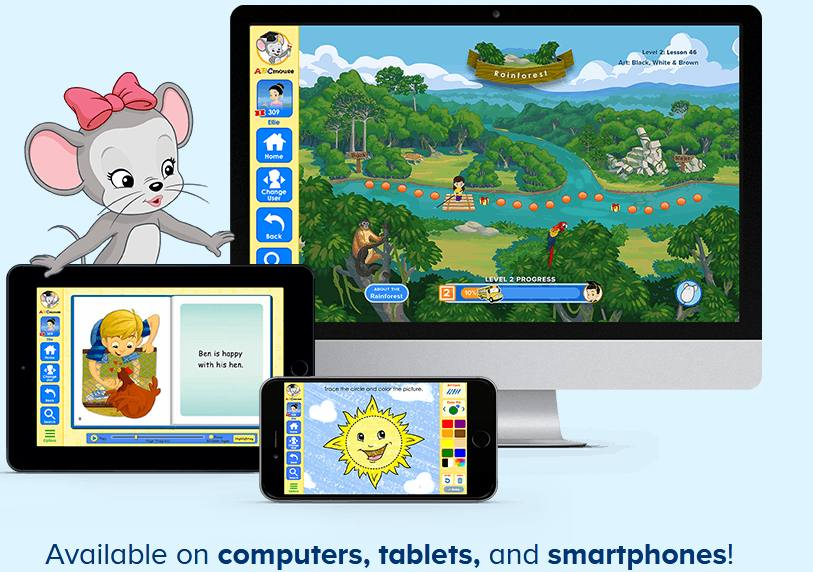 ABCmouse learning platform