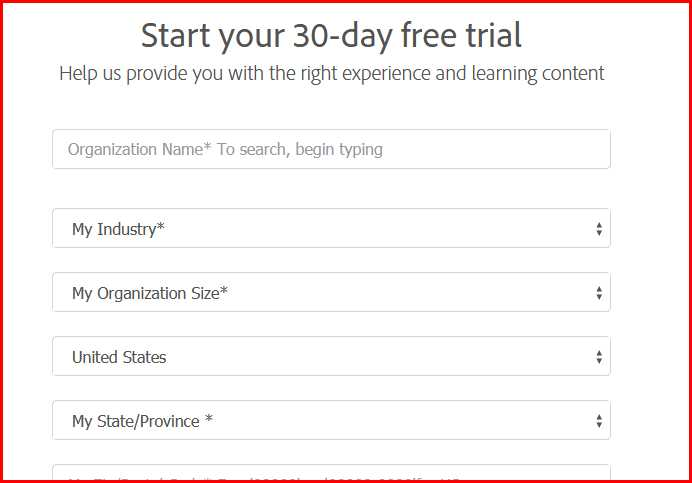 Adobe Captivate Free Trial