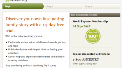 Ancestry free trial