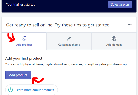 add a product