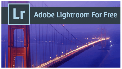 Free Adobe Lightroom