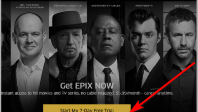 Epix free trial signup
