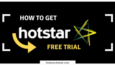 Hotstar Free Trial Graphics