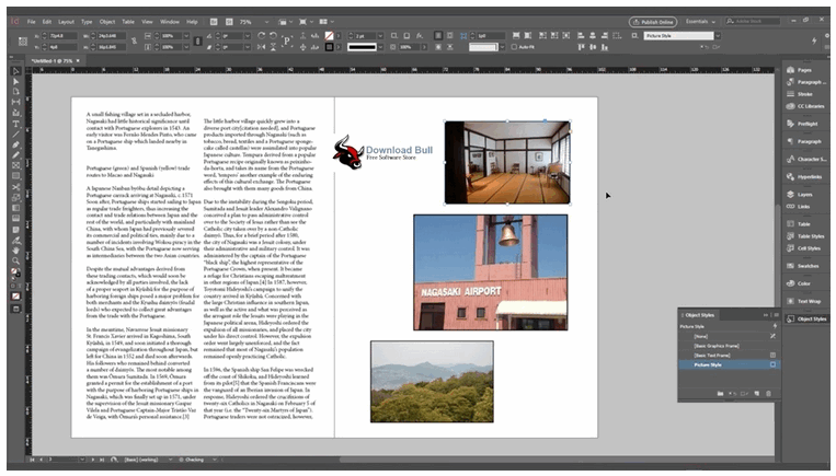 Indesign Editing
