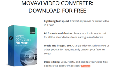 Download Movavi free trial version