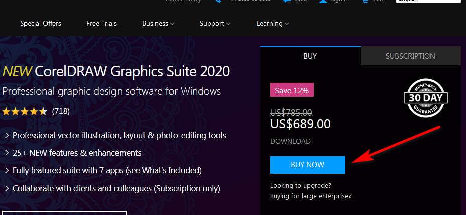 Buy Coreldraw software