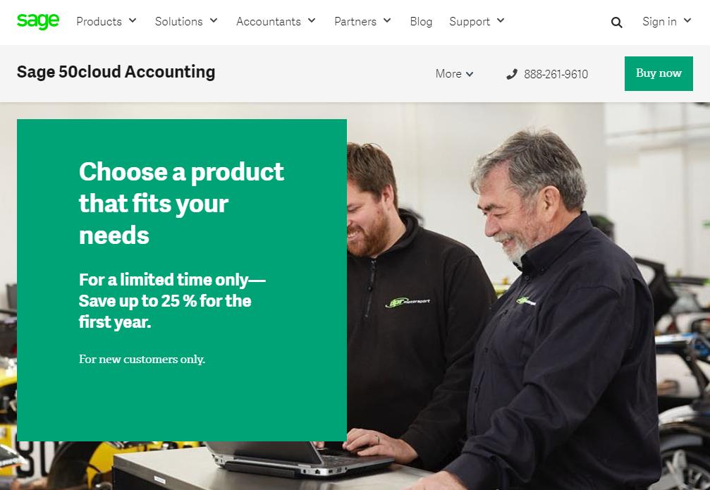 Buy Sage 50 Accounting software